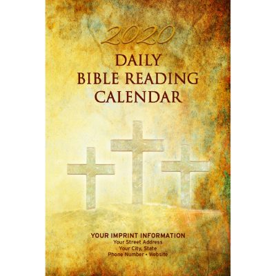 Single Copy Calvary 2020 Daily Bible Reading Calendar