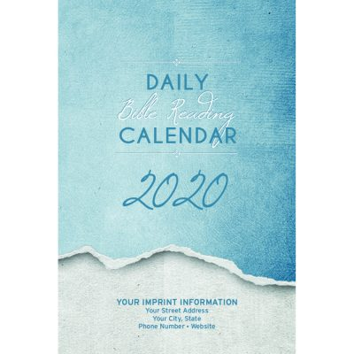 Contemporary 2020 Daily Bible Reading Calendar