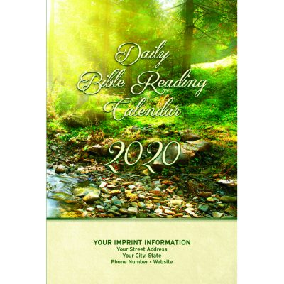 Single Copy Nature 2020 Daily Bible Reading Calendar