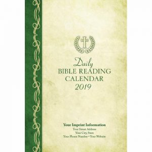 Journal 2019 Daily Bible Reading Calendar