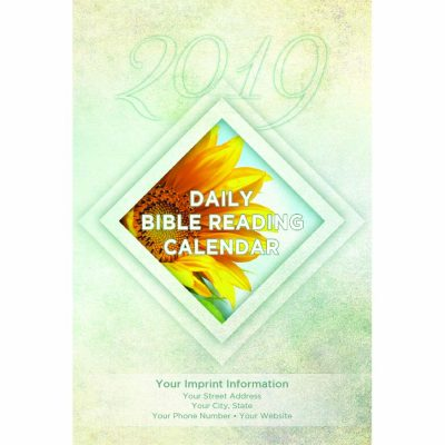 Sunflower 2019 Daily Bible Reading Calendar Single Copy