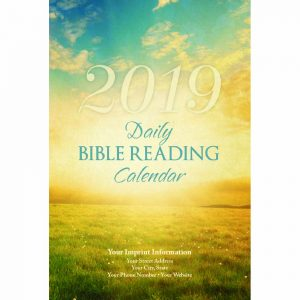 Sunrise 2019 Daily Bible Reading Calendar Single Copy