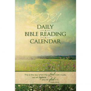 Single Copy Meadow 2021 Daily Bible Reading Calendar
