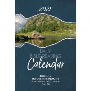 Single Copy Mountain View 2021 Daily Bible Reading Calendar