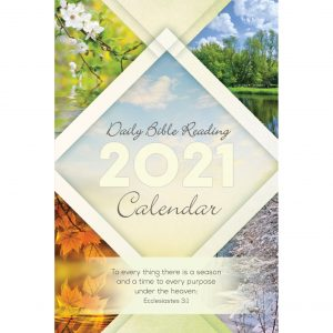 Single Copy Seasons 2021 Daily Bible Reading Calendar