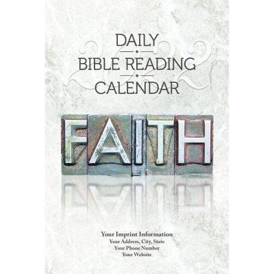 Faith 2022 Daily Bible Reading Calendar