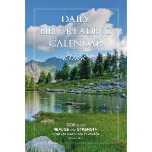 Single Copy Scenic View 2022 Daily Bible Reading Calendar