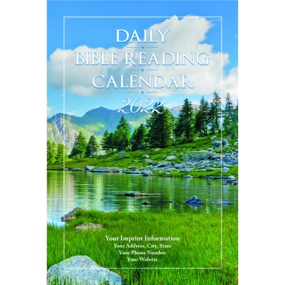 Scenic View 2022 Daily Bible Reading Calendar