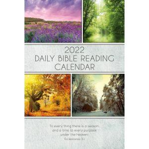 Single Copy Seasons 2022 Daily Bible Reading Calendar